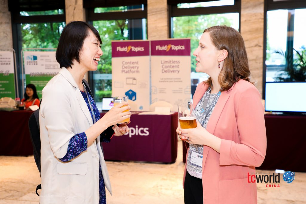 tcworld China 2019 networking